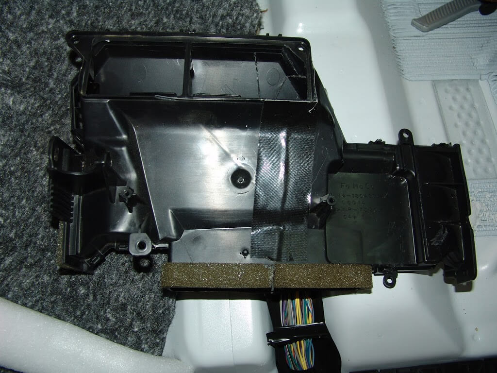 Replacing the blend door actuator 2011 ford f150 autos post for 02 explorer blend door actuator